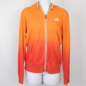 Nike orange hombre hoodie jacket
